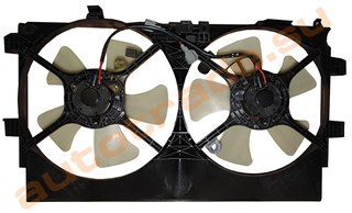 Диффузор радиатора Mitsubishi ASX Новосибирск