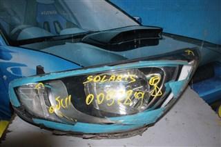 Фара Hyundai Solaris Бердск