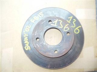 Тормозной диск Nissan Sunny Уссурийск