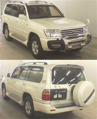 Накладка на порог Toyota Land Cruiser 100 Уссурийск