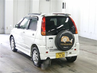 Rear cut Daihatsu Terios Kid Владивосток