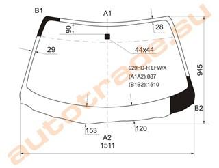 Стекло Mazda 929 Иркутск