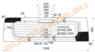 Стекло Hummer H3 Новосибирск