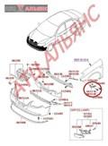 Крепление бампера для Hyundai Elantra