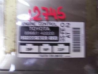 Блок управления efi Toyota Rav4 Новосибирск