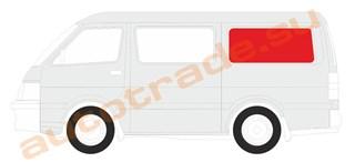 Стекло Mitsubishi L400 Красноярск