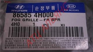 Решетка бамперная Hyundai Grand Starex Владивосток