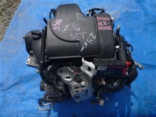 Двигатель Toyota Passo Владивосток