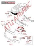 Крепление бампера для Hyundai Ix35