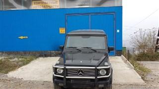 Планка под фары Mercedes-Benz G-Class Владивосток