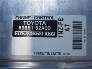 Блок управления efi Toyota Bb Владивосток