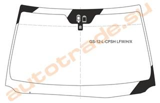 Стекло Lexus GS450 Владивосток