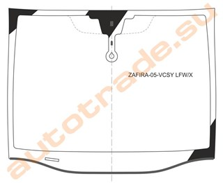 Стекло Chevrolet Zafira Новосибирск