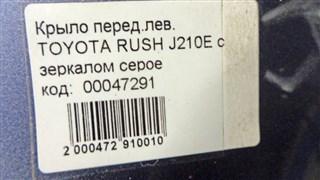 Крыло Toyota Rush Новосибирск