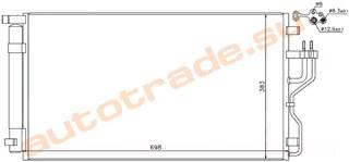Радиатор кондиционера Hyundai Ix35 Иркутск