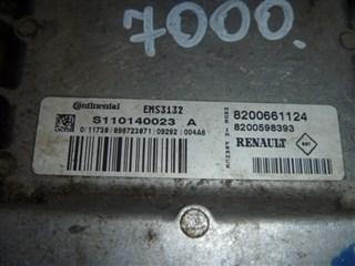 Блок управления efi Renault Logan Иркутск
