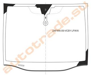 Стекло Opel Zafira Иркутск