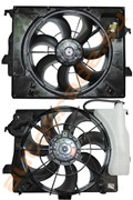 Диффузор радиатора для KIA Rio