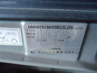 Тормозные колодки Toyota Sparky Владивосток