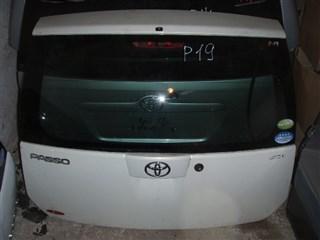 Дверь задняя Toyota Passo Новосибирск