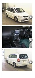 Стекло собачника для Subaru Traviq