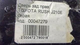 Дверь Toyota Rush Новосибирск