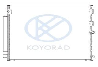 Радиатор кондиционера Toyota Origin Владивосток