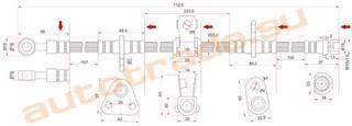 Шланг тормозной Rover 600 Красноярск
