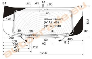 Стекло BMW X1 Красноярск