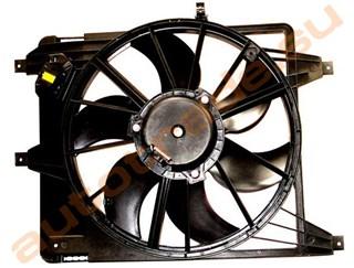 Диффузор радиатора Renault Logan Иркутск