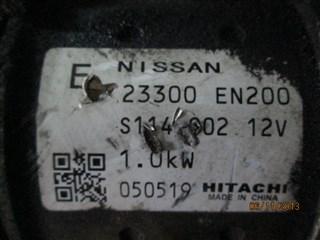 Стартер Nissan Qashqai Владивосток