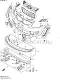 Бампер для Suzuki SX4 SUV