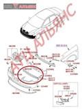 Решетка бамперная для Hyundai Avante