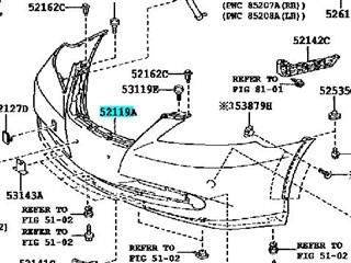 Бампер Lexus ES350 Новосибирск