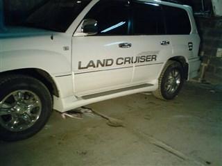 Порог Toyota Land Cruiser Cygnus Владивосток