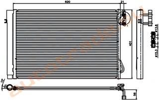 Радиатор кондиционера BMW 1 Series Иркутск
