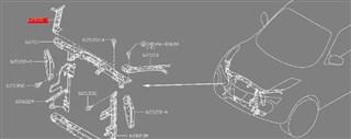 Рамка радиатора Nissan Juke Владивосток