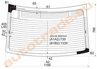 Стекло Lexus GS450 Улан-Удэ