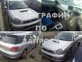 Стекло собачника для Subaru Impreza WRX STI
