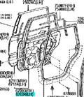 Дверь для Toyota Prado