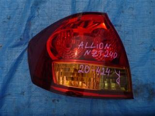 Стоп-сигнал Toyota Allion Владивосток