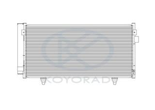 Радиатор кондиционера Subaru Exiga Владивосток