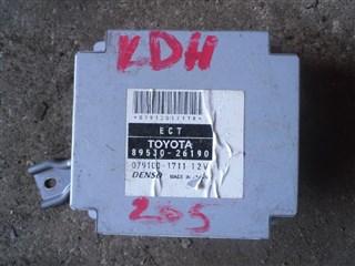 Блок управления форсунками Toyota Hiace Van Владивосток