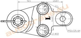 Шаровая опора Lexus ES350 Иркутск