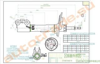 Стойка Lexus ES300 Иркутск