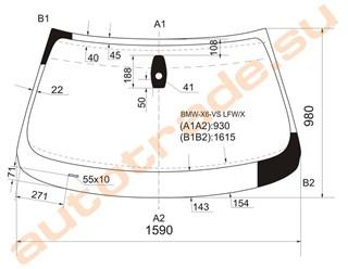 Стекло BMW X6 Улан-Удэ