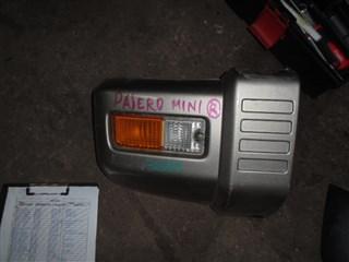 Клык бампера Mitsubishi Pajero Mini Владивосток
