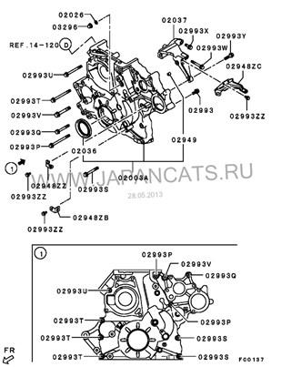 Лобовина двс Mitsubishi Pajero IV Новосибирск