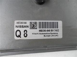Блок управления efi Nissan Dualis Владивосток