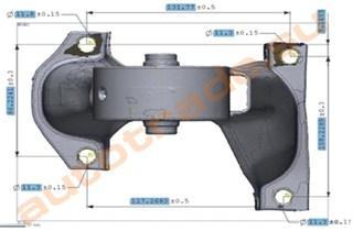 Подушка двигателя Chery Fora Новосибирск
